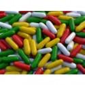Colorinas de regaliz grageadas Ceconsa bolsa 1,5Kg.