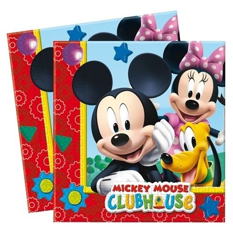 Servilletas Mickey Club House 20u.