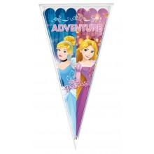 Bolsa cono 10u Princesas Luxury Disney 20x40cm