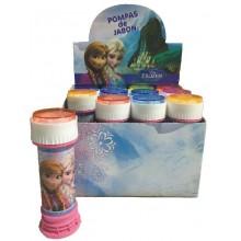 Pompas jabón Frozen 12 unidades.