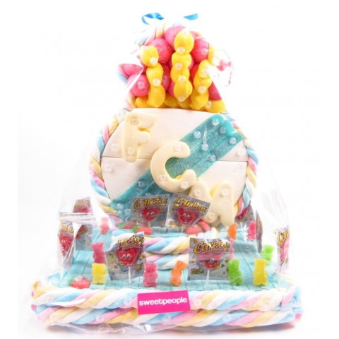 Tarta de Chuches del Real Madrid 2000gr.