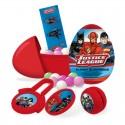 Huevos de plástico Liga de la Justicia 18 unidades