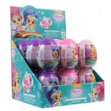 Huevos de plástico Shimmer & Shine 18 unidades