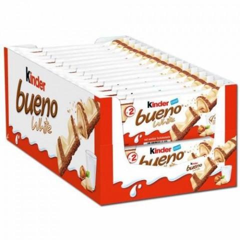 Kinder Bueno white 30 unidades.
