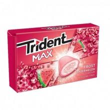 Chicles trident max sabor Sandía 16u.