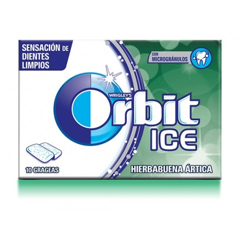 Chicles Orbit Ice Hierbabuena Ártica 12u.
