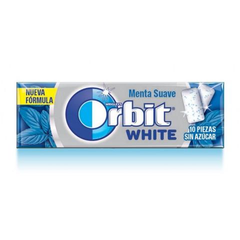 Chicles Orbit White suave formato gragea.