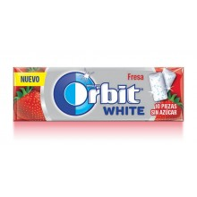 Orbit white Gum Strawberry 30u.