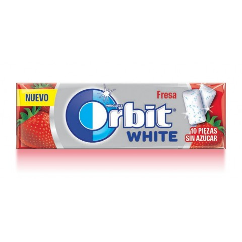 Chicles Orbit White Fresa 30u.