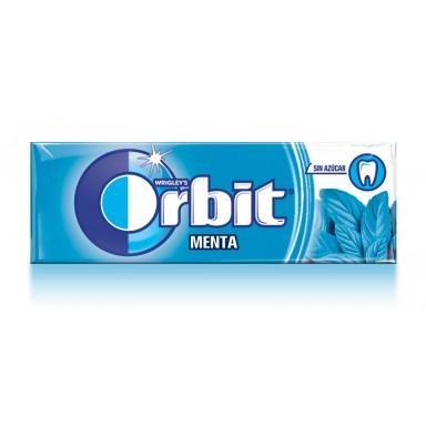 Chicles Orbit Menta formato gragea 30u.