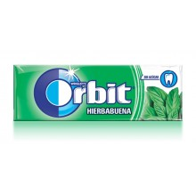 Chicles Orbit Hierbabuena formato gragea 30u.