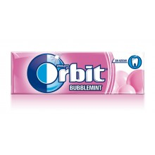 Chicles Orbit Bublemint formato gragea.
