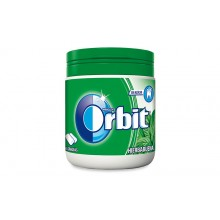 Chicles Orbit box hierbabuena 6 botes con 60 grageas.