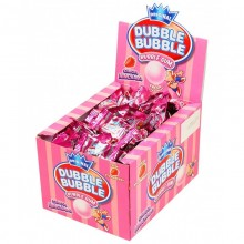 Chicles Dubble Bubble sabor fresa sin gluten 150 unidades.