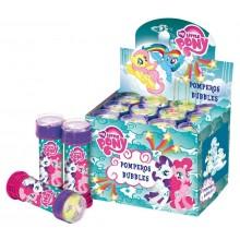 Pompas jabón My Little Pony 12 unidades.