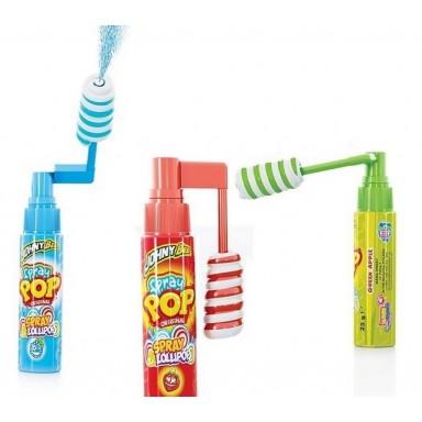 Candy Spray Pop 18 unidades.