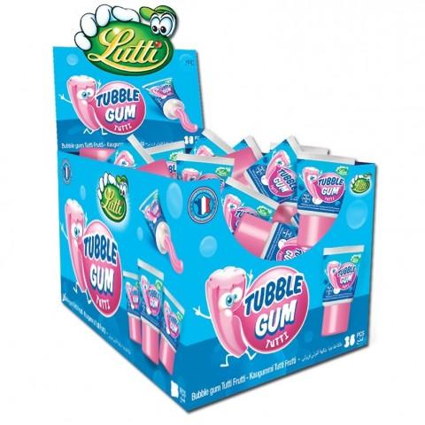 Tubble Gum Tutti Frutti 18u.