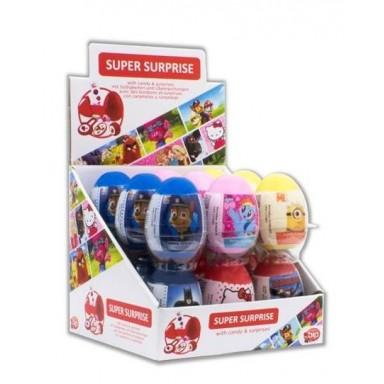 """Huevos de plástico """"Super Surprise"""" 18 unidades"""