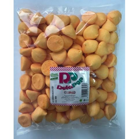 Masmelos Dulcipop Bolas Naranjas 100 unidades