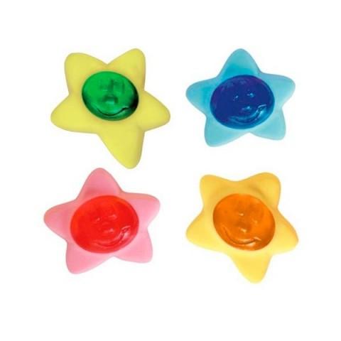 Caramelos de goma haribo estrellitas de colores 250u.
