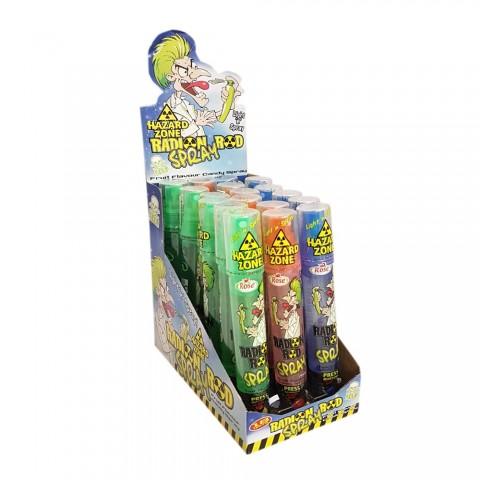 Candy Spray Radion Rod 18 unidades.