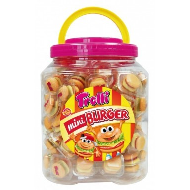Mini Burguers Trolli 90u.