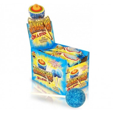 Caramelo con palo Jawbreaker Frambuesa 15u.