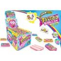 Chicles Tattoo Blubble Gum Team 200u.
