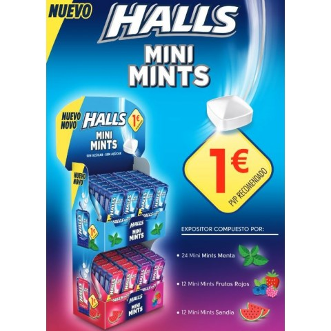 Lote Halls Mini Mints 1€