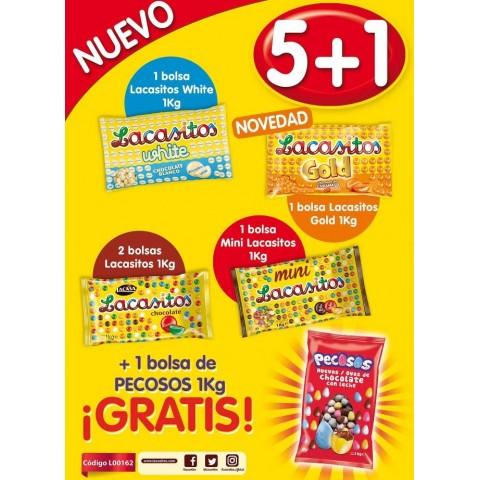 Lote Lacasitos 5+1