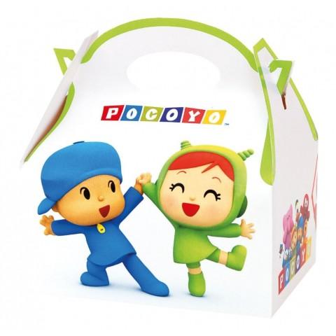 Cajita Cartón para celebraciones Pocoyo 1u.