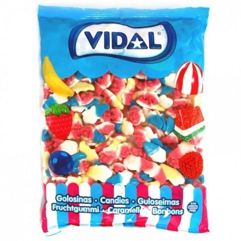 Bolsa caramelos de goma Brujas vidal 250u.