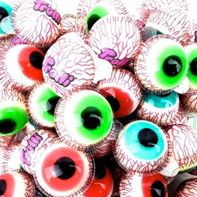 Ojos de Trolli rellenos 45 unidades.