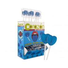 Lollipops Cerdán Blue Heart tongue painters 200u.