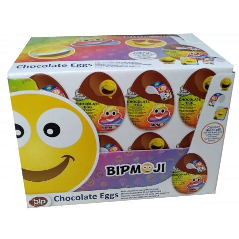 Huevos de chocolate Smiley 24 unidades.