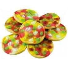 Caramelos de goma Trolli pizzas bote 130u.