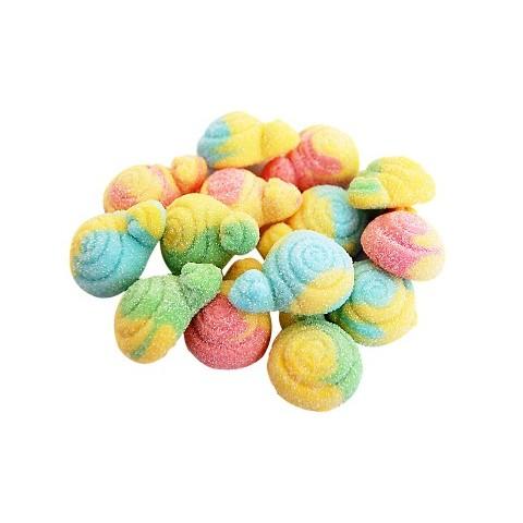 Caramelos de goma Trolli Caracoles pica bolsa 1kg.