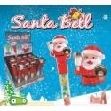 Juguete navidad Santa Bell 16u.