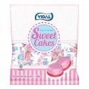 Tartitas de fresa y nata envueltas de Vidal 200 unidades.