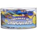 Parasoles chocolate Lacasa 50u.