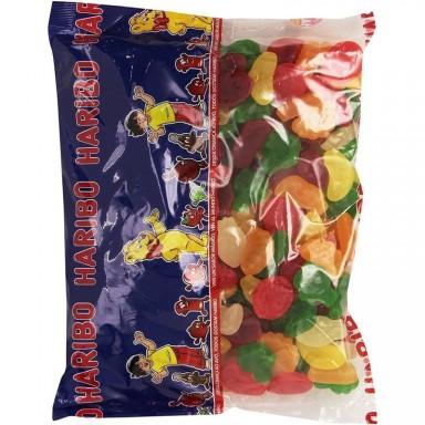 Caramelos de goma haribo frutas tropicales 250u..
