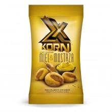X Korn Miel y Mostaza Jr kikos maiz estuche con 24 bolsitas de 35gr.