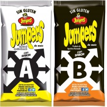 Jumpers sabor A+B 30 unidades.