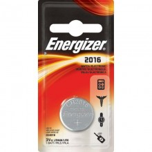 Pilas Energizer Botón CR 2016. 3V. 1u.