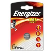 Pilas Energizer Botón CR 1616 3V. 1u.