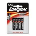 Pilas Energizer LR03 4u. 1,5V.