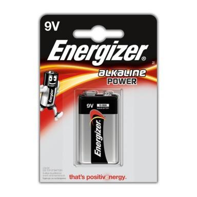 Pilas Energizer 6LR61 9V 1u.