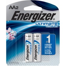 Pilas Energizer AA Ultimate Lithium. 2u. 1,5V.