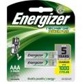 Pilas Energizer Recargables AAA 2u.