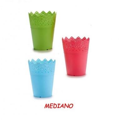 Maceta de plástico Mediana
